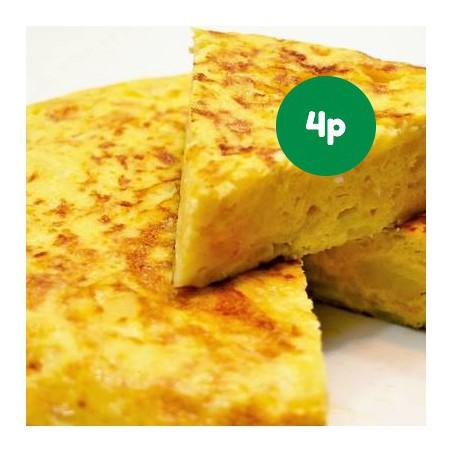 Foto Pack tortilla de patata ecológica