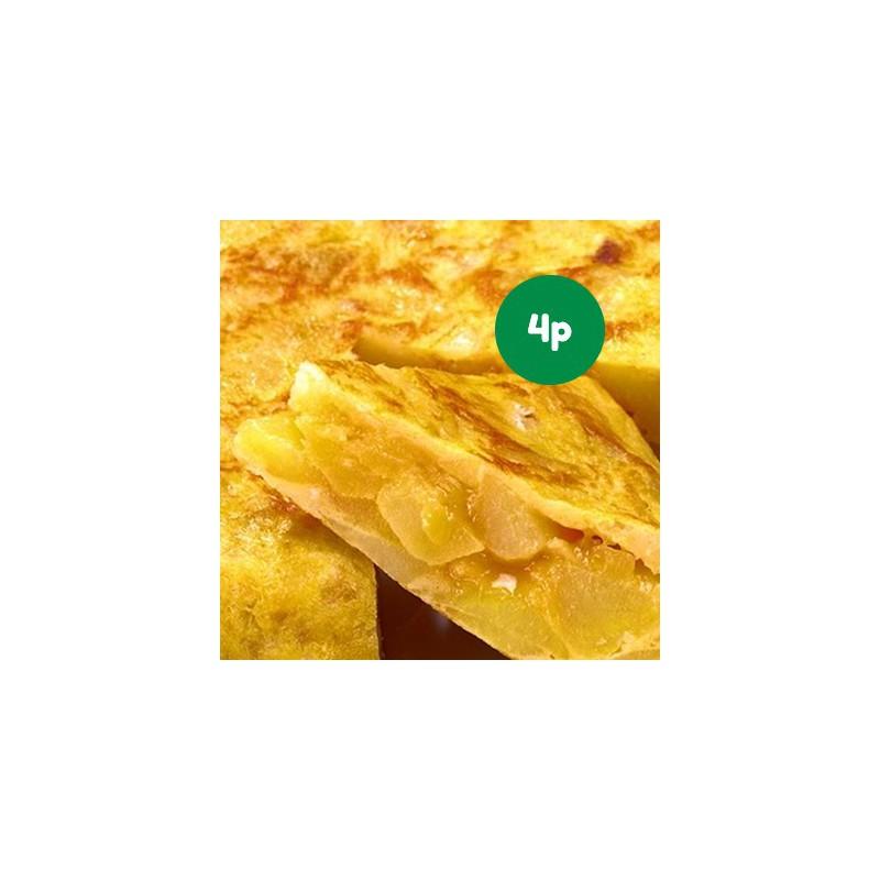Foto Pack tortilla de patata con cebolla ecológica