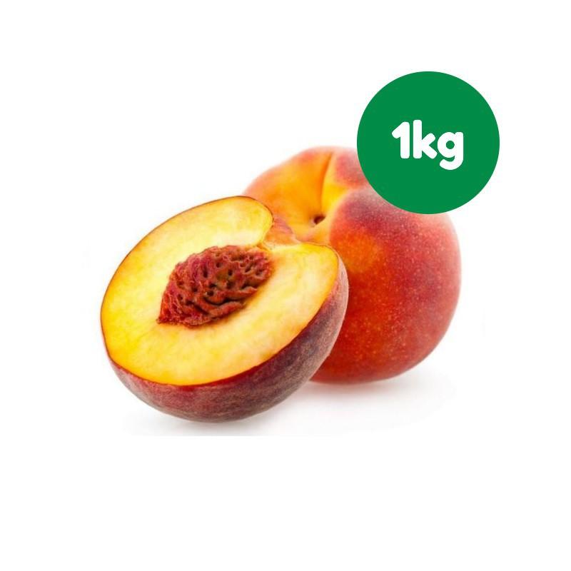 Foto Melocotón rojo ecológico (1 kg)