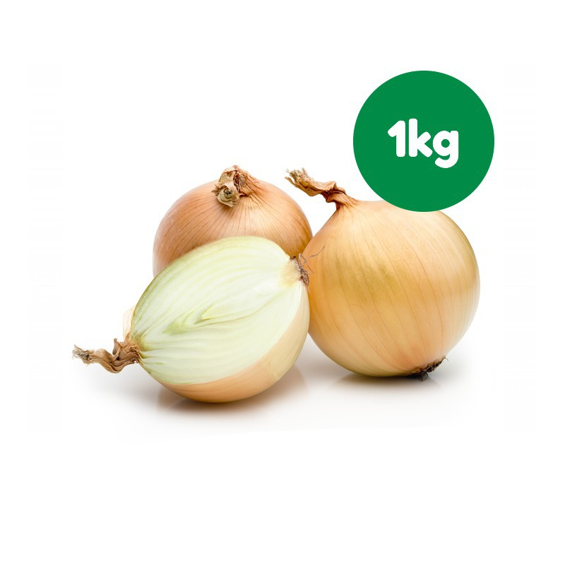 Foto Cebollas secas blancas ecológicas (1 kg)