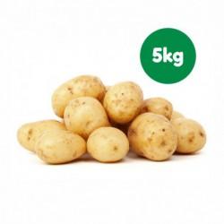 Foto Patatas blancas ecológicas familiar (5 kg)